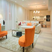 CENTER AMAZING MODERN 3 ROOMS FURNISHED BY ARCHITECT