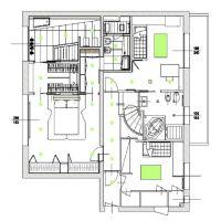 ROQUEVILLE CENTRALE DUPLEX 4 CAMERE AMMOBILIATO DESIGN