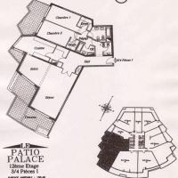 PATIO PALACE : 3 APARTMENTS TO ASSEMBLE