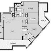 4 pièces Appartement