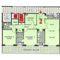 Spacious 2-bedroom flat