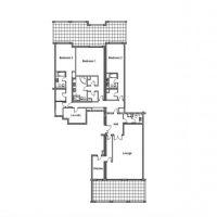 Luxurious apartment in Terrasses du Port