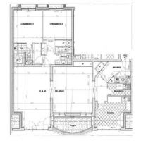 Large 2 bedrooms at Rocazur for rent