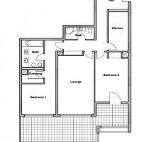 Magnifique appartement de 3 pièces à Fontvieille