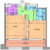 LARVOTTO - 2 PIECES DANS UNE RESIDENCE HOTELIERE