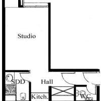 MONTAIGNE - Central and quiet studio - Dual usage