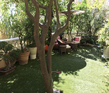 3/4 pièces central avec jardin privatif