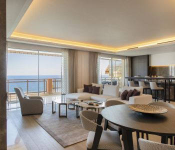 Luxury apartment  situated in Larvotto, beautifull sea view