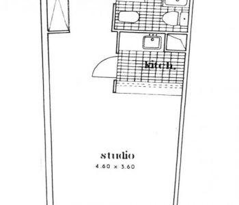 Monaco/Residence de l'Annonciade/studio
