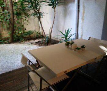 Studio meublé - jardin - usage mixte