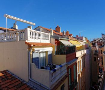 MONACO-VILLE :3 ROOMS TO BE RENOVATED WITH BALCONY