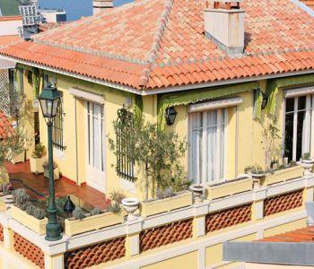 Beau duplex avec terrasse sur les 3 côtés