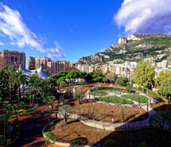 FONTVIEILLE, 3 ROOMS APARTMENT VIEW ON THE GARDEN PRINCESSE GRACE