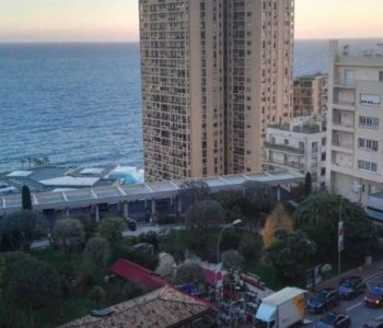 Monte Carlo, Le Continental - Large 1 room apartment with sea vi