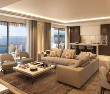 Larvotto ' La Réserve ' 3 bedroom entirely refurbished apartment