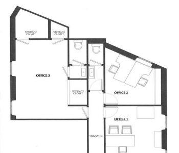 A SAISIR ! Appartement usage mixe centre condamine.