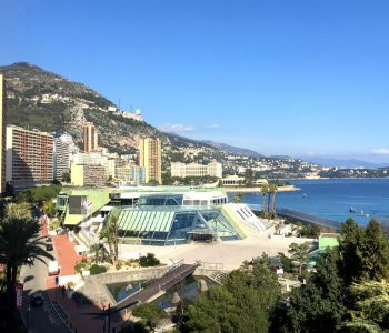 3 ROOMS - Sea view - Avenue PRINCESSE GRACE