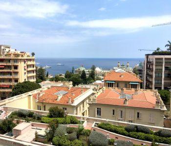 MONTE-CARLO Studio with casino and sea view