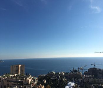 Monaco - large 1 bedroom with sea view