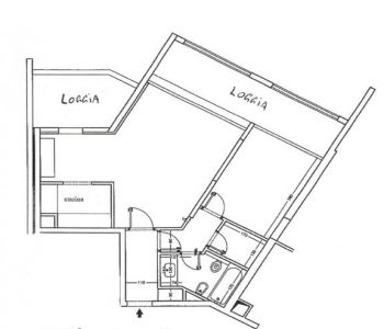 LE MANTEGNA - 2 Pièces - Cave et Parking