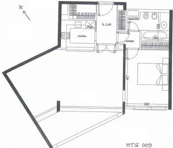 LE MANTEGNA - 2 Pièces - 1 Cave et 1 Parking