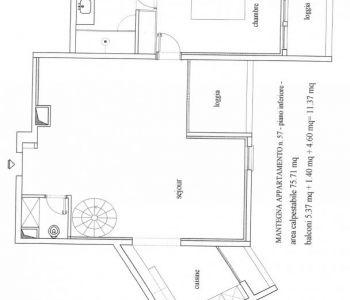 LE MANTEGNA - 2 Pièces + Terrasse Roof - C + PK