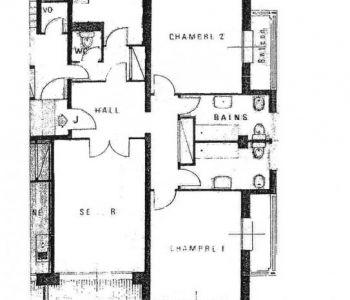 SARDANAPALE-3 Pièces 113 m² Vue mer-Cave et Box
