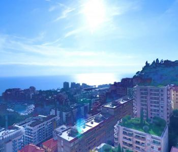 Beautiful 2 bedrooms apt. of 100 sqm, sea view