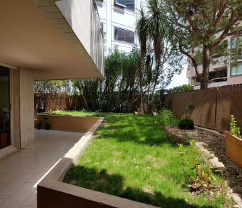 2 room flat with terrace/garden, nice residence