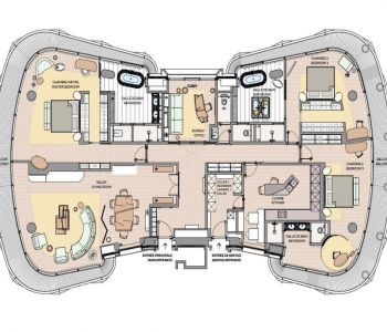 One Monte Carlo - Full Floor - 3 chambres
