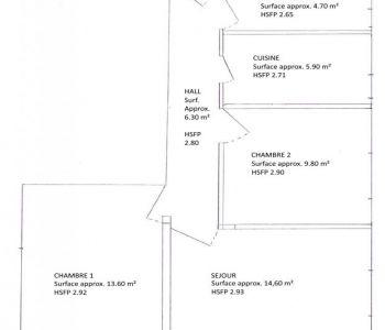 3 rooms law 1235/1291 - Moneghetti