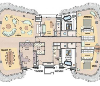 One Monte Carlo - Full Floor - 2 chambres