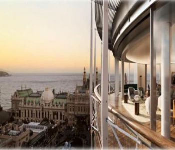 TRIPLEX 4 berooms - ONE MONTE CARLO - SEA AND CASINO PLACE VIEWS