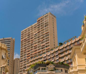 4 rooms- sea and Monaco views (never restructured)