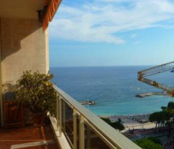2 rooms with sea view near Larvotto beaches