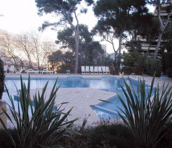 Grand Studio - Les Ligures- Sea view - Residence with Tennis Pool and gym