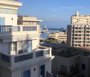 Duplex with sea view for rental in Stella, high floor