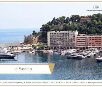 3 Pièces Location - Le Ruscino - Port Hercule