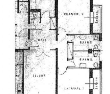 3 pièces Appartement