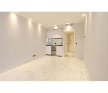 Large renovated studio in luxury building