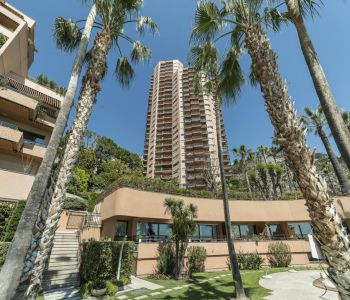 Parc Saint Roman - Nice renovated 2-bedroom apartment with Cap Martin and sea view