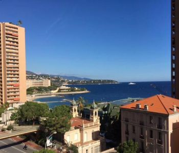Nice furnished two bedrooms apartment with sea view