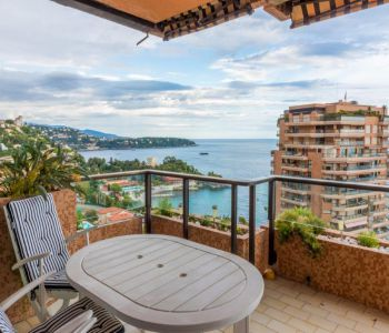 Monaco: Terrasses du Parc Saint Roman, beautiful 2 room flat