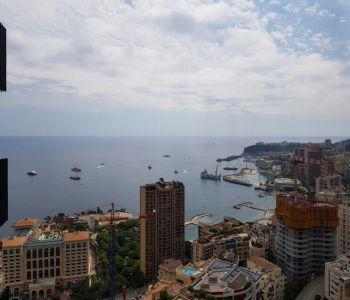 Monaco/ Magnifique duplex avec splendide vue mer