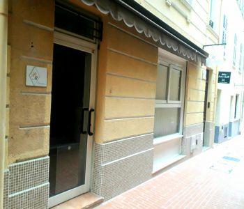 Monaco/ Local avec appartement attenant en plein Carré d'Or