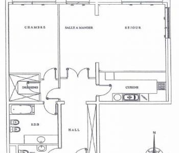 Monaco / Memmo Center / 1 bedroom apartment