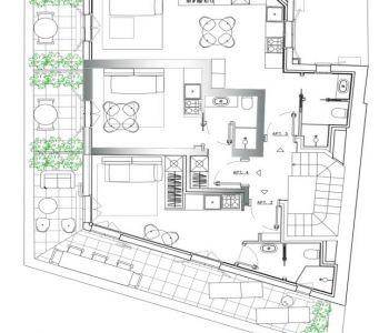 Charmant petit penthouse! Livré neuf en 2019