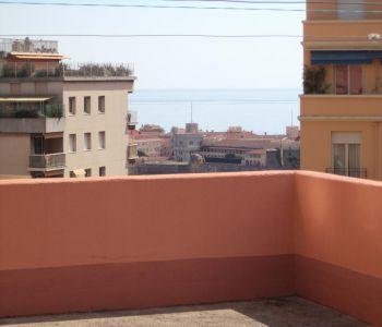 Monaco / Bd du Jardin Exotique / 2 pièces