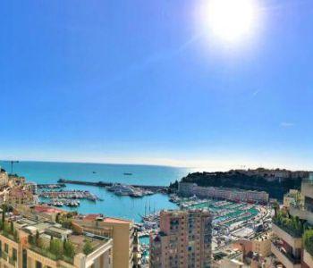 Monaco / Herakleia / 3 pièces vue mer