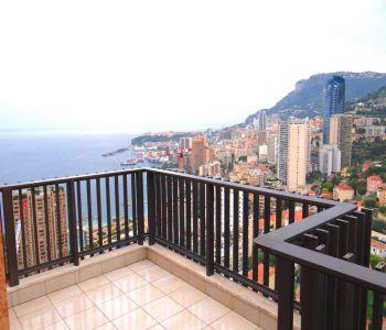 Monaco/ Magnifique duplex avec vue splendide mer